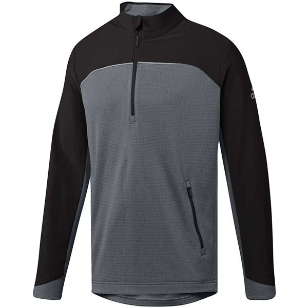 adidas Mens Go To Quarter Zip Pullover