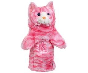Daphnes Pink Tabby Headcover