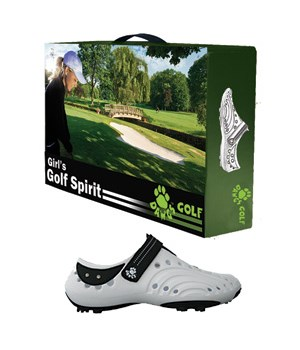 Dawgs Girls Spirit Golf Shoes