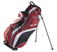 MacGregor Deluxe VIP Stand Bag (Red/Black/White)