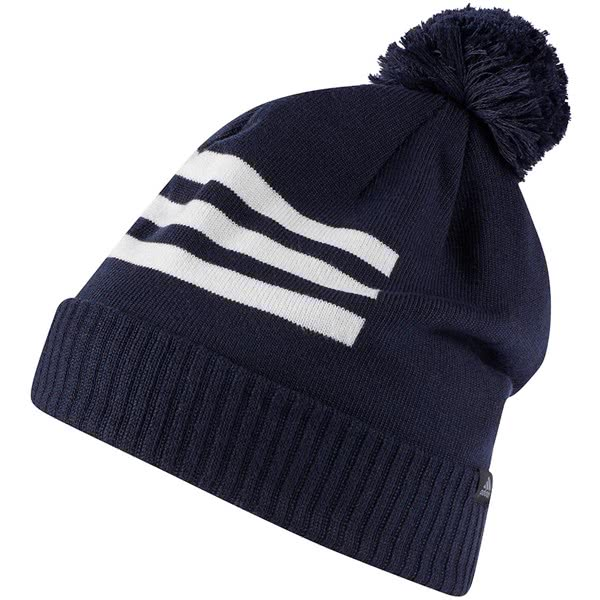 bc7651baae828 adidas Golf Mens 3-Stripes Beanie - Golfonline