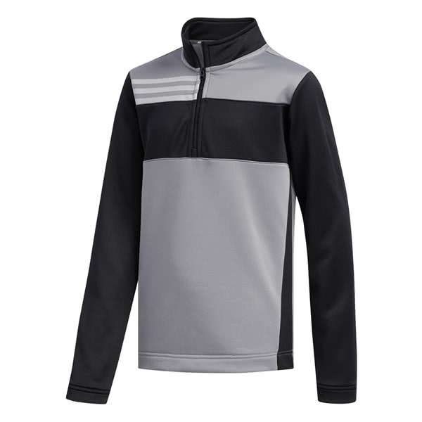 adidas Boys Half Zip Layer Pullover
