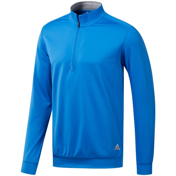 adidas Mens Classic Club Quarter Zip Pullover