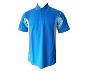 Mizuno Mens DryLite Split Panel Golfer Polo Shirt