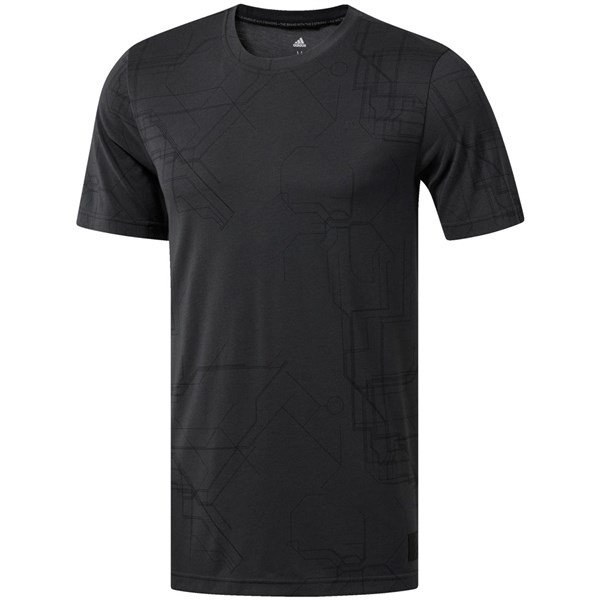 adidas Mens adicross Allover Graphic Tee