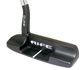 Rife Vault 002 Series Duke Satin Black Putter with SuperStroke