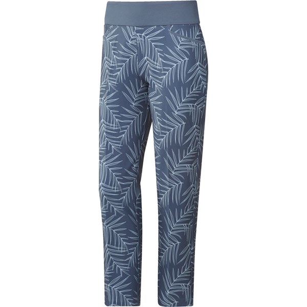 adidas Ladies Printed Pull on Ankle Trouser
