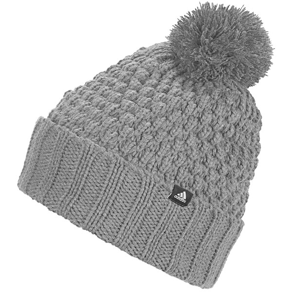 adidas Ladies Fleece Lined PomPom Beanie