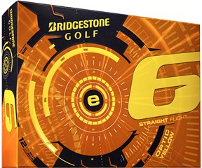 Bridgestone E6 Yellow Golf Balls 2015  12 Balls