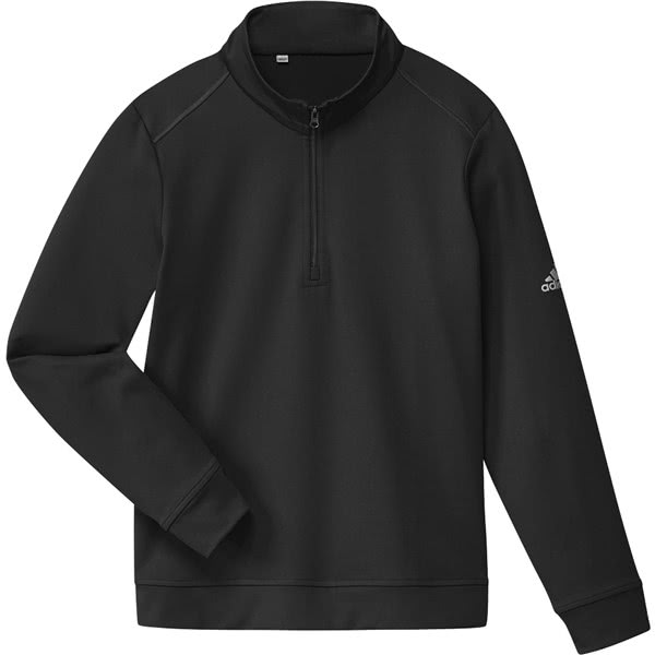 adidas Boys Half Zip Solid Layer Pullover