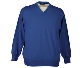 Glenmuir Mens Eden Cotton V-Neck Sweater