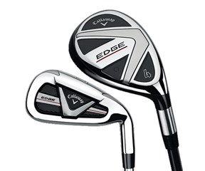 Callaway Edge Hybrid Combo Iron Set  Steel Shaft