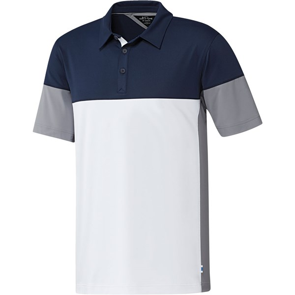 adidas Mens Adipure Tech Segmented Polo Shirt