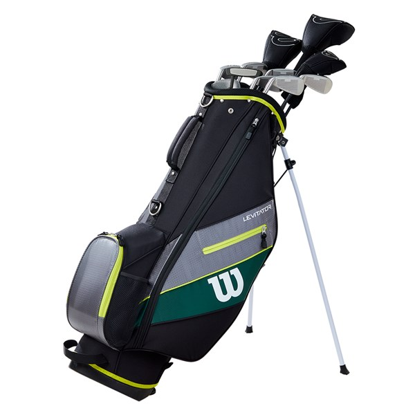 Wilson Mens Matrix Evolve Golf Package Set (Steel/Graphite) - 1 Inch Longer