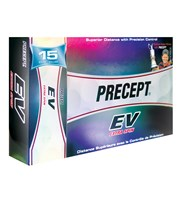 Bridgestone Precept EV White Golf Balls  15 Balls