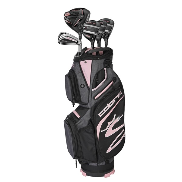 Cobra Ladies F9 12 Pc Golf Set (Graphite Shaft)