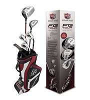 Wilson FG Tour 10 Piece Junior Golf Package Set  9-12 Year
