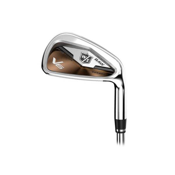 Wilson Staff FG Tour V6 Raw Irons (Steel Shaft) - Limited Edition