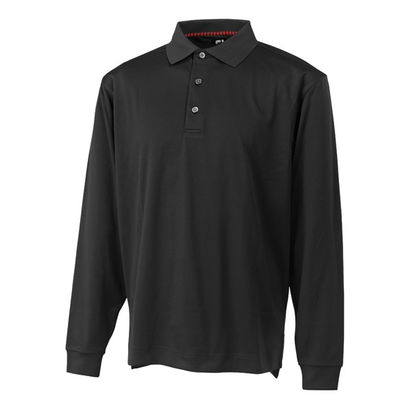 a03c2d24 FootJoy Mens Thermocool Long Sleeve Polo Shirt. Double tap to zoom. 1; 2; 3