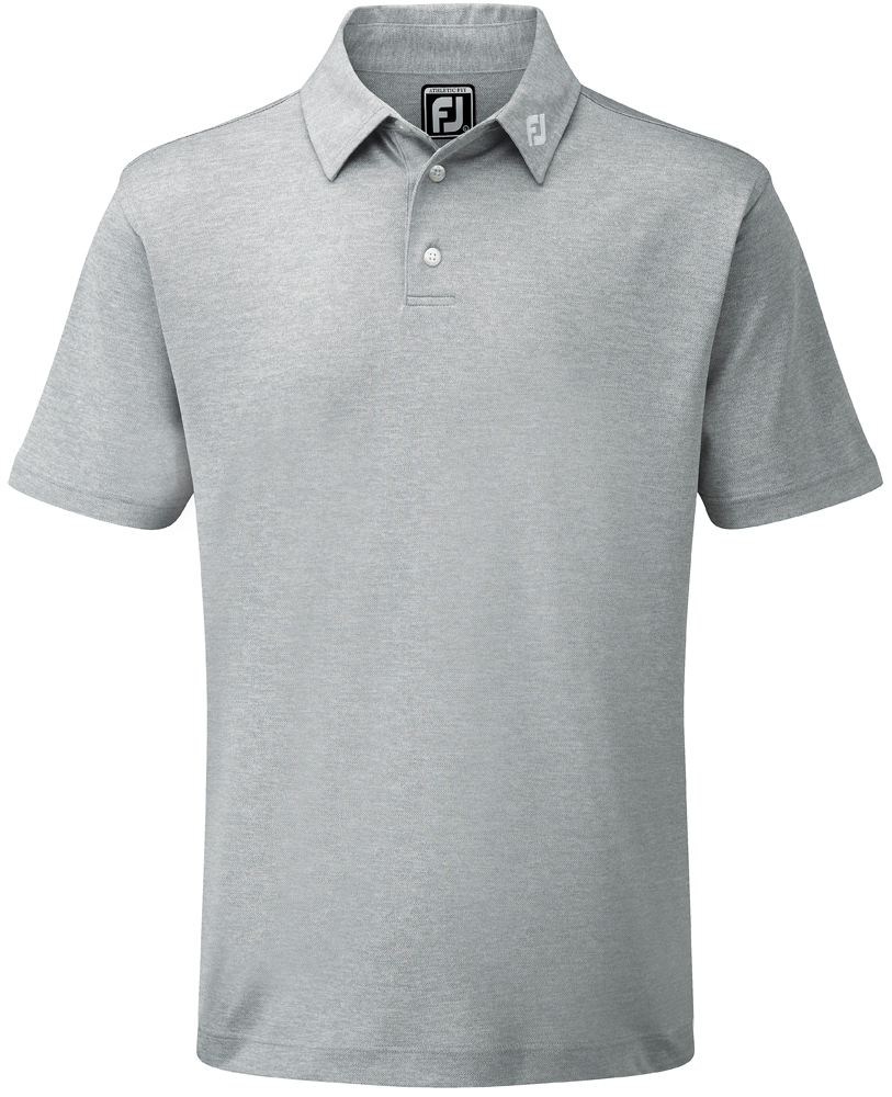 Footjoy Solid Colour Athletic Fit Polo Shirt Golfonline