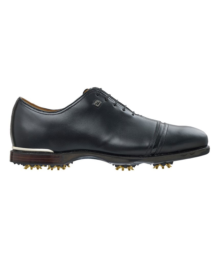 footjoy mens icon black golf shoes golfonline