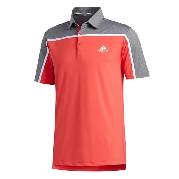 adidas Mens Ultimate 365 3-Stripe Polo Shirt