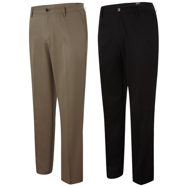 Adidas Mens Tech Flat Front Golf Trousers