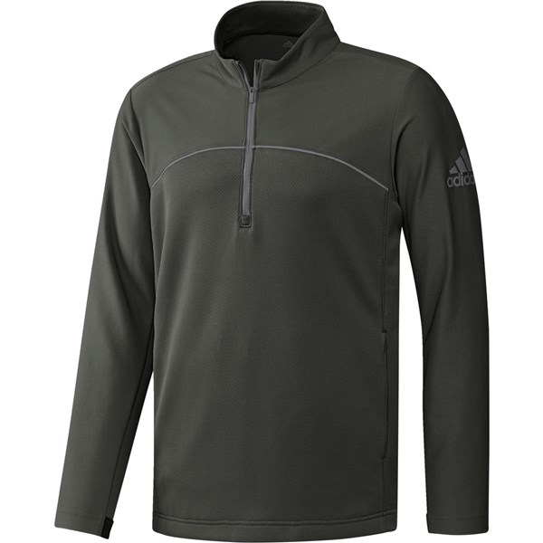 adidas Mens Go-To Adapt Quarter Zip Pullover