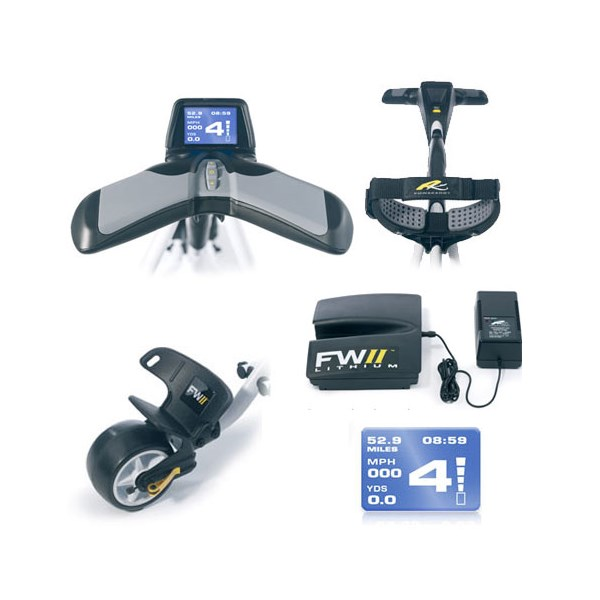Powakaddy Freeway II Lithium Electric Trolley With