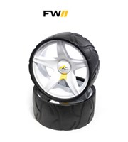 Powakaddy Trolley Wide Wheels  Pair