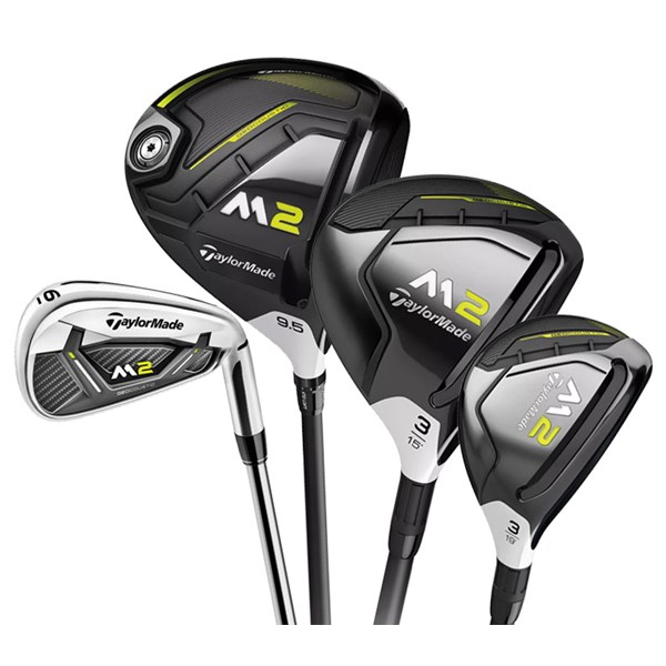 TaylorMade M2 10-Piece Combo Set (Steel/Graphite)