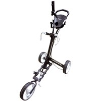 Ben Sayers One Click 3 Wheel Deluxe Trolley