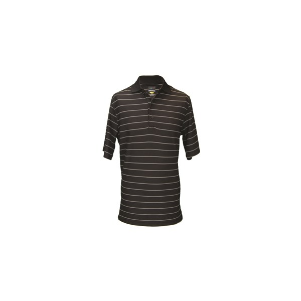 Greg Norman Mens Protek Fine Stripe Polo Shirt