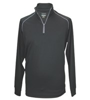 Greg Norman Mens Quarter Zip Fashion Mock Neck Pullover