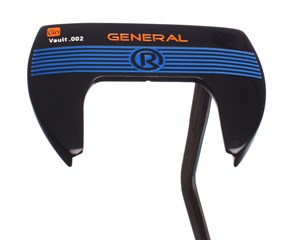 Rife Vault 002 Series General Mallet Putter with SuperStroke