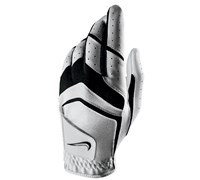 Nike Mens Dura Feel VIII Leather Gloves 2015 (White/Black/Grey)