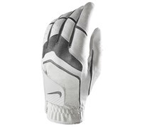 Nike Ladies Dura Feel V Leather Gloves 2015 (White/Anthracite)
