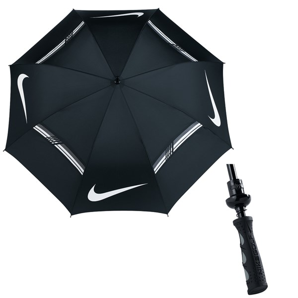 Nike 62 Inch Windsheer Hybrid Golf Umbrella