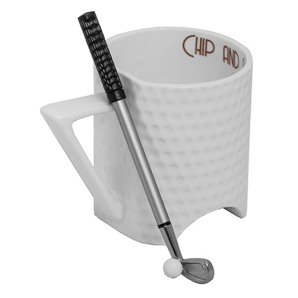 Golf Mug Chip And Sip