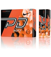 Nike Power Distance PD9 Soft Orange Golf Balls  12 Balls