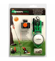 Green Pro Multi-Purpose Golf Accessory Kit