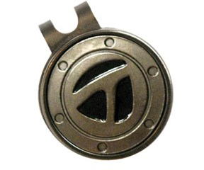 TaylorMade Ball Marker Hat Clip  Gunmetal