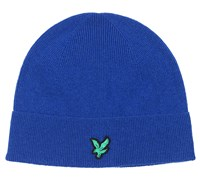 Lyle and Scott Kitted Ribbed Beanie (Duke Blue)
