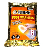 HotHands Golf Foot Warmers  5 Pairs