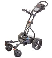 Big Max Hunter Quad Electric Trolley with Lithium Battery