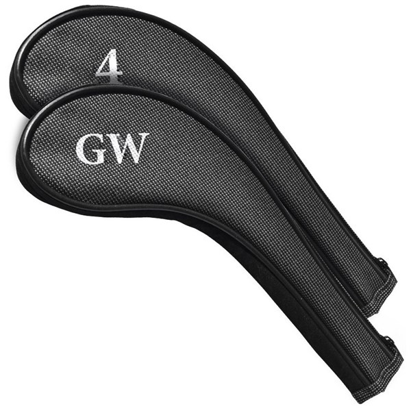 Two Tone Zipped Iron Covers (4-GW)