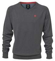Island Green Mens V-Neck Sweater