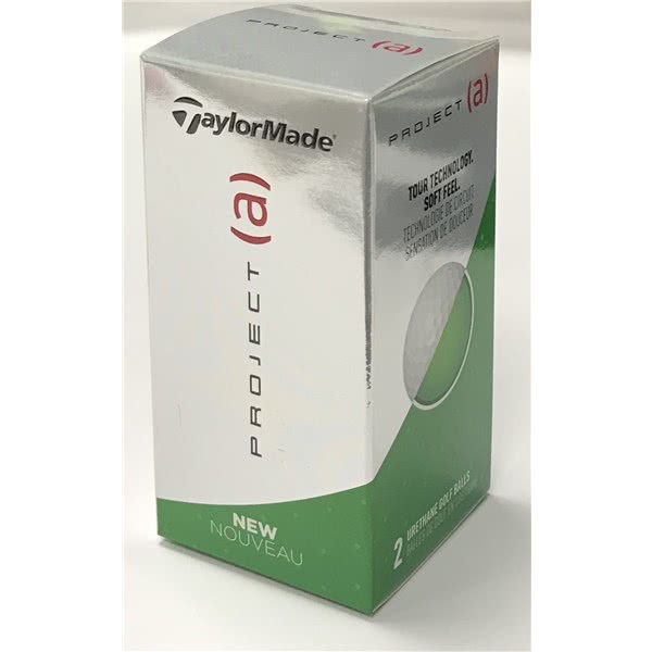 TaylorMade Project (a) Golf Balls (2 Ball Sleeve)