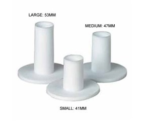 Rubber Tees 3 Pack  Small-Medium-Large