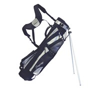 Longridge 6 Inch Weekend Stand Bag (Black/Silver)